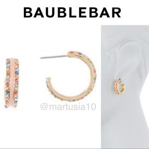 BAUBLEBAR Cerelia 20mm Huggie Hoop Earrings